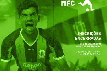 Futebol: Maringá faz draft com mais de 300 inscritos