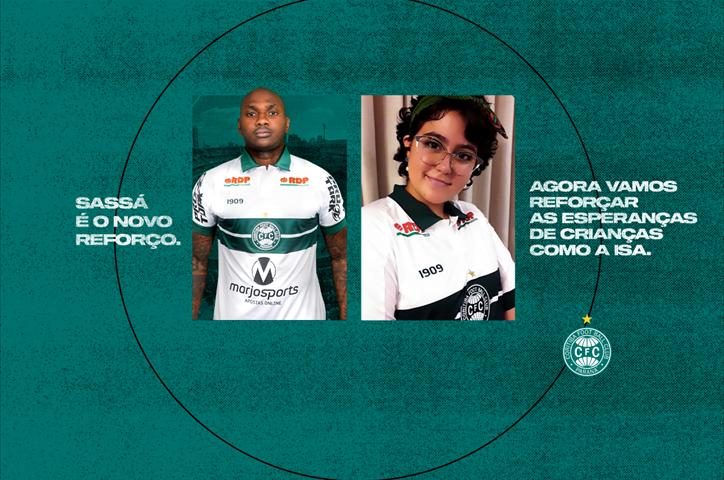 Futebol: campanha de conscientização confirma Sassá no Coxa