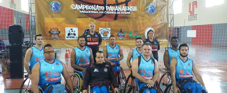 Basquete: cadeirantes se preparam para Copa Regional