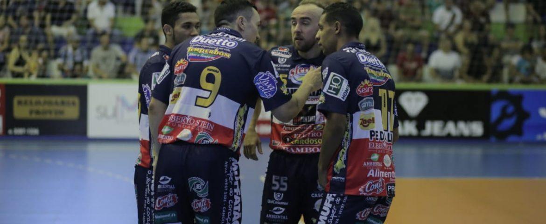 Futsal: Cascavel e CAD abrem a Copa Cachoeira