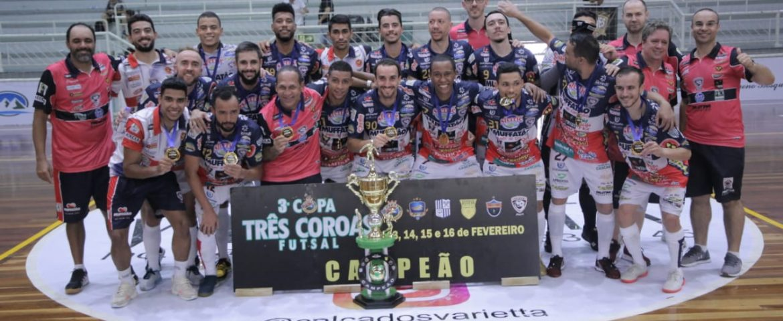 Futsal: Cascavel conquista Copa Três Coroas