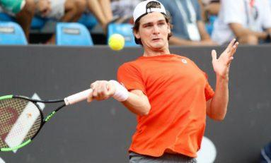 Tênis: Wild joga muito, mas é eliminado no Rio Open