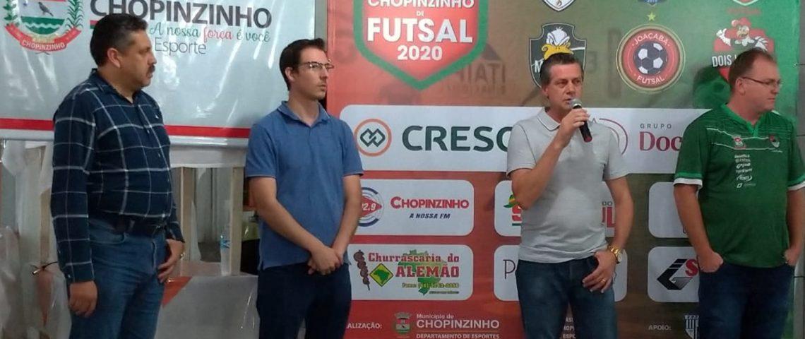 Futsal: definida a tabela da Copa Chopinzinho