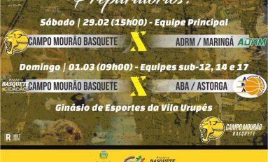 Basquete: Campo Mourão confirma amistosos