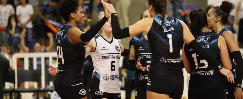 Vôlei: Curitiba garante terceira vitória seguida