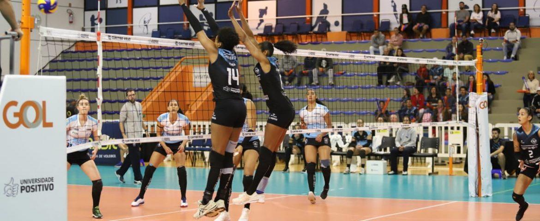 Superliga: primeira vitória coloca Curitiba na zona de classificação