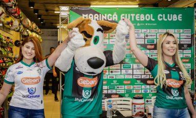 Futebol: Maringá apresenta novos uniformes
