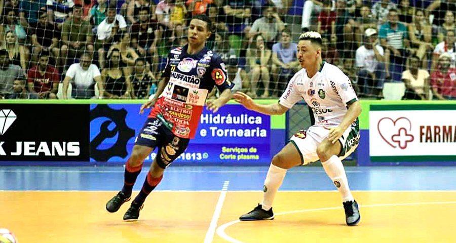 Futsal: Marreco aprova desempenho em amistoso