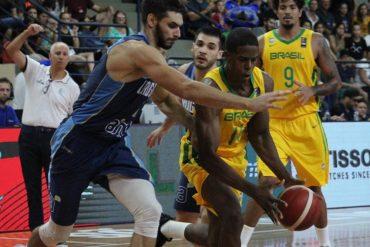 Basquete: Brasil bate Uruguai em S.J. dos Pinhais