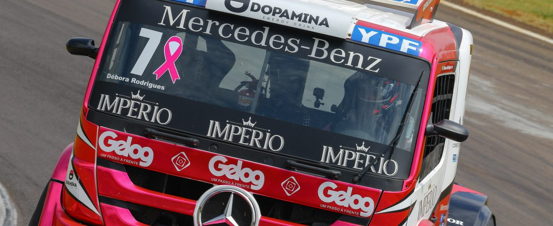 CopaTruck: Débora promete temporada com mais pódios