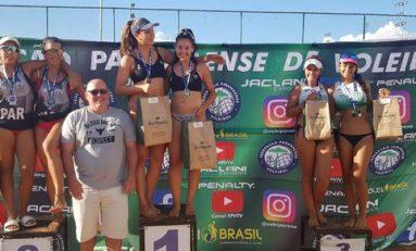 VôleidePraia: campeões recebem pontos no ranking