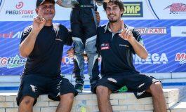 Kart: Guki Toniolo celebra vitória e nova parceria