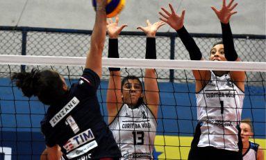Vôlei: Curitiba bate o Flu e fica perto do playoff