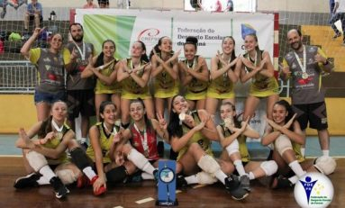 Vôlei: equipe paranaense garante vaga no Mundial Escolar