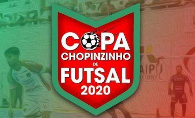 Futsal: Copa Chopinzinho começa nesta quarta