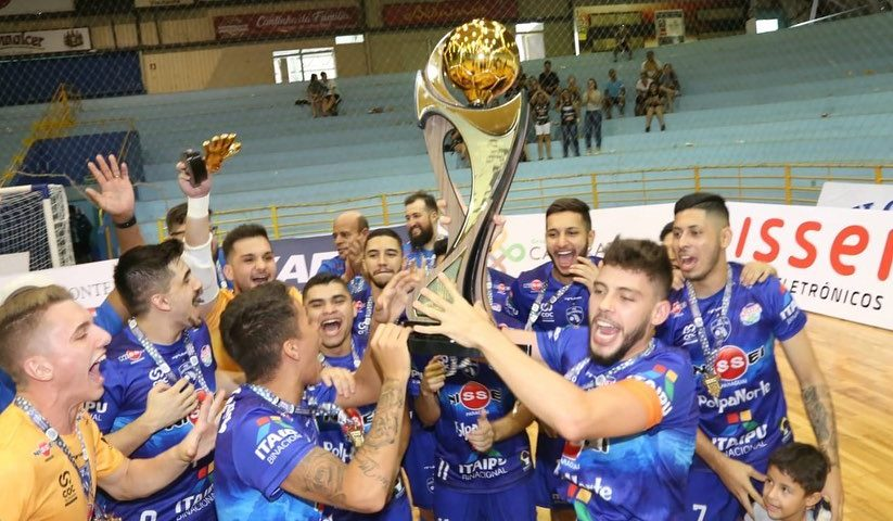 Futsal: Foz é hexa no estadual sub-20