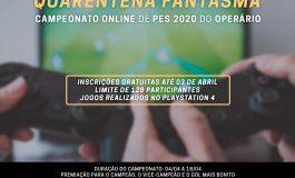 Futebol: Operário lança torneio de PES para os torcedores