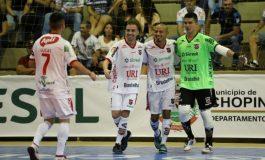 Futsal: Atlântico goleia o Pato na abertura de copa