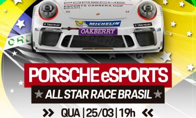 Motor: Porsche anuncia corrida das estrelas no virtual