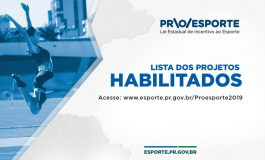 Incentivo: Proesporte divulga projetos habilitados