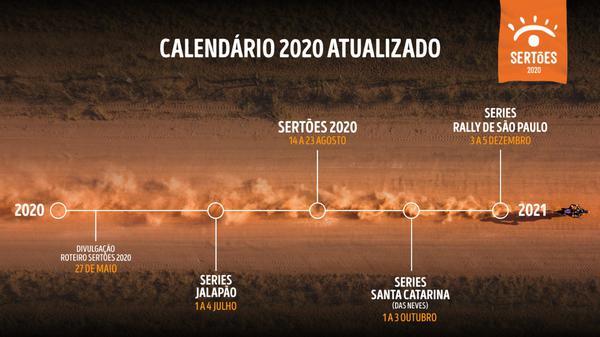 Rali: Sertões anuncia novo calendário