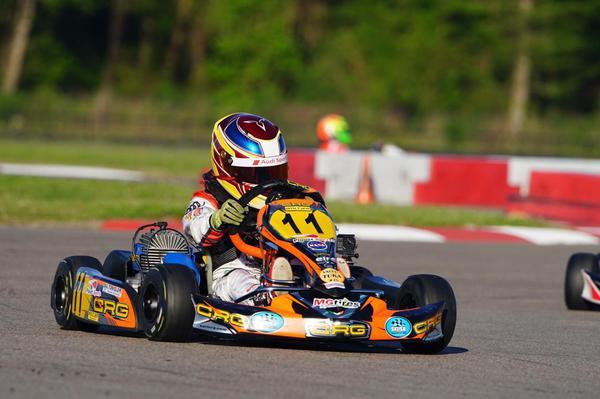 Kart: Augustus Toniolo volta aos treinos no Raceland