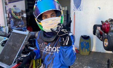 Kart: Firás Fahs volta aos treinamentos