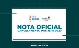 Escolar: Paraná não terá jogos em 2020