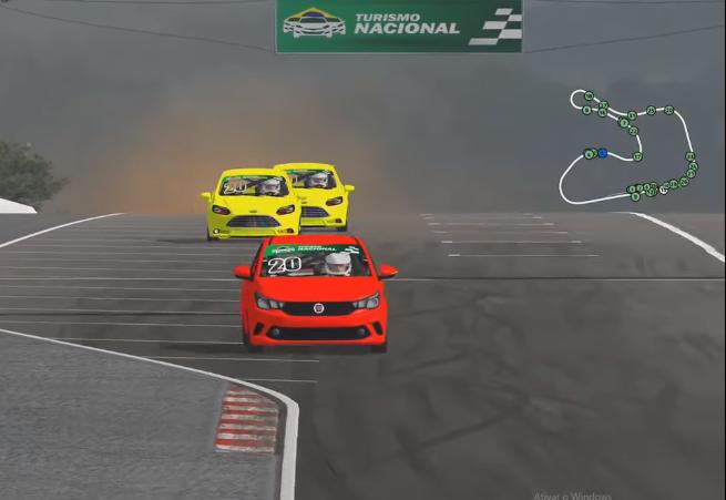 TN Virtual lança categoria para pilotos profissionais