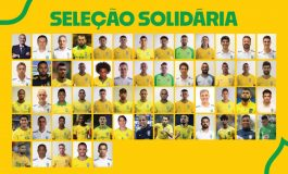 Futebol: jogadores da seleção arrecadam donativos