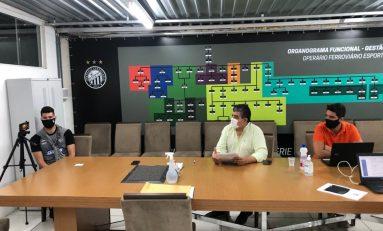 Futebol: Operário apresenta plano de ação para retorno