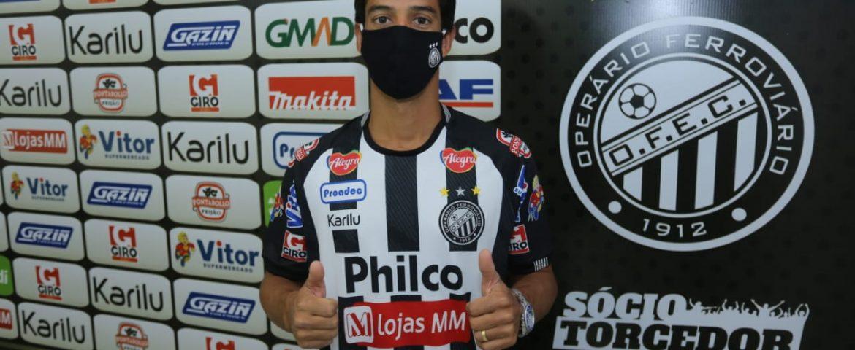 Futebol: Thomaz é a nova contratação do Operário