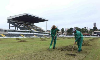 Futebol: Operário investe na recuperação do gramado