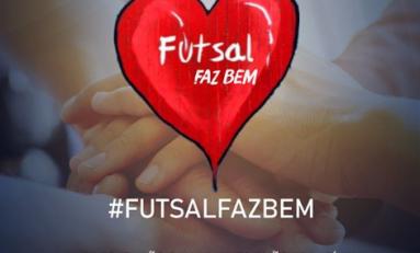 Futsal: times da LNF fazem campanha de arrecadação