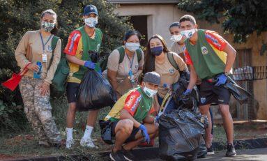 Futsal: jogadores do Umuarama ajudam no combate a dengue