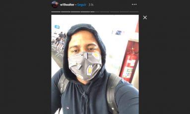 Futebol: Valter está em Curitiba para exames