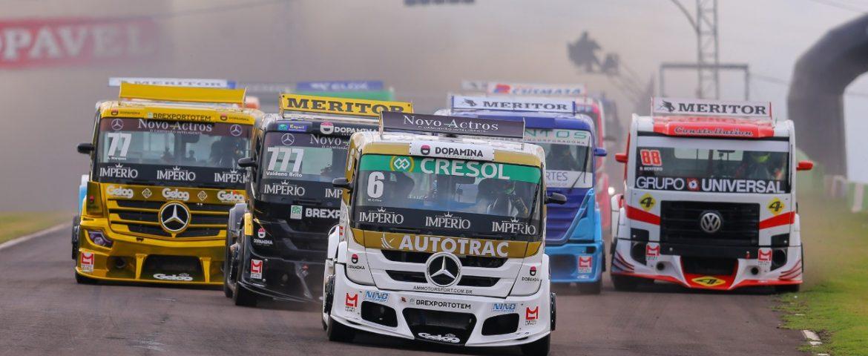 Copa Truck: Equipe AM faz história com tripleta em Cascavel