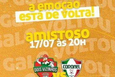Futsal: Dois Vizinhos marca amistoso para a próxima semana