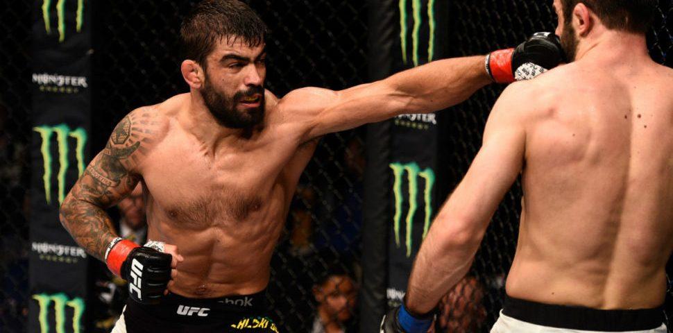 UFC: paranaense perde em decisão dividida dos árbitros