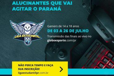 Games: Escolares terá versão digital dos jogos no Paraná