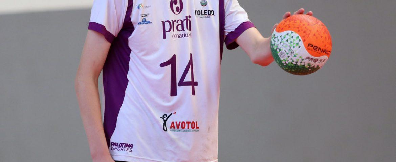 Vôlei: Toledo tem atleta na seleção brasileira