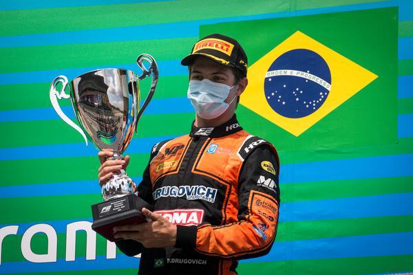 Fórmula 2: Drugovich conquista vitória em Barcelona