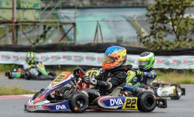 Kart: Guki Toniolo pontua em prova de recuperação