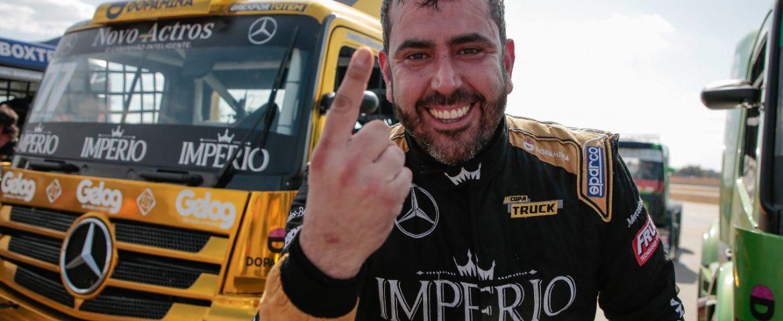 Copa Truck: André Marques vence em Goiânia