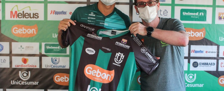 Futebol: Maringá contrata atacante e quer lateral
