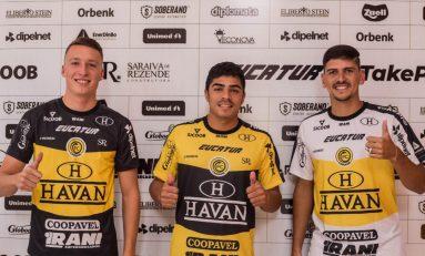Futebol: FCCascavel apresenta três contratações