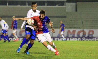 Série B: Paraná vence com gol nos minutos finais