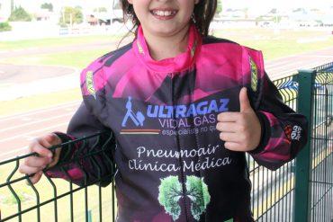 Kart: Giovanna satisfeita com posição no Paranaense