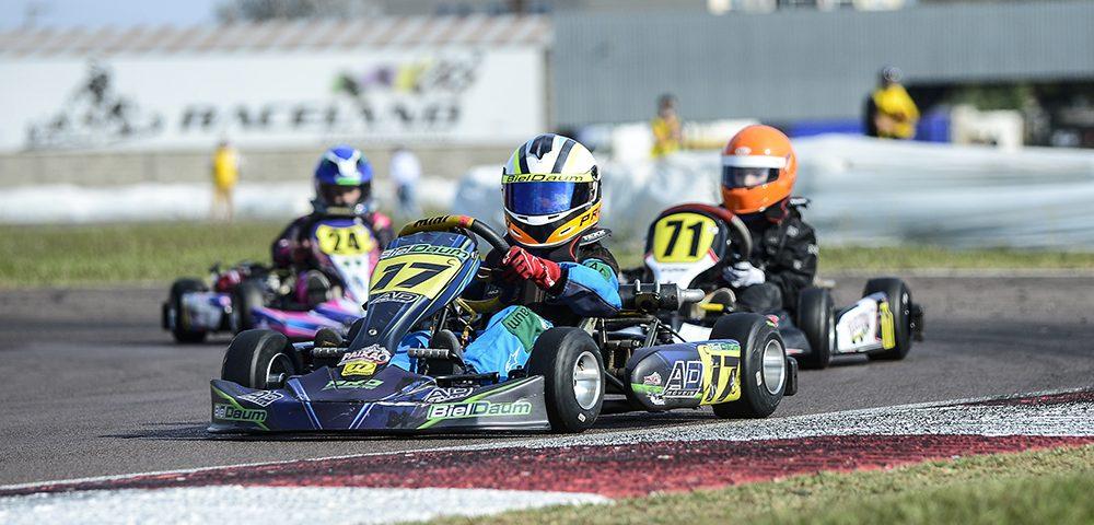 Kart: Biel Daum tem boa estreia na cadete