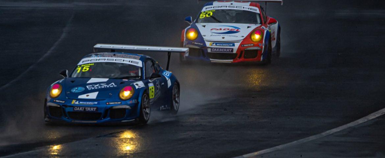 Porsche: Na chuva, Léo Sanchez faz escalada para o pódio